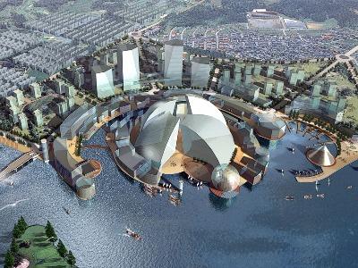 上海青浦澱浦河規劃