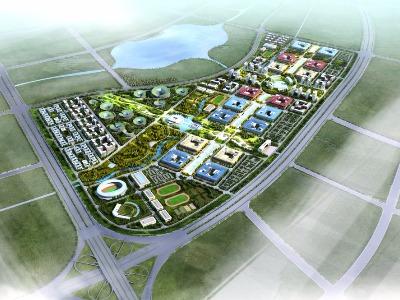福州平潭高教園區城市設計