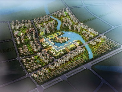 Particular Planning of Sino-Singapore Tianjin Eco-city