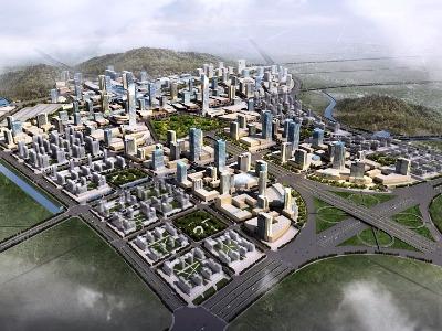 福州平潭火車站城市設計