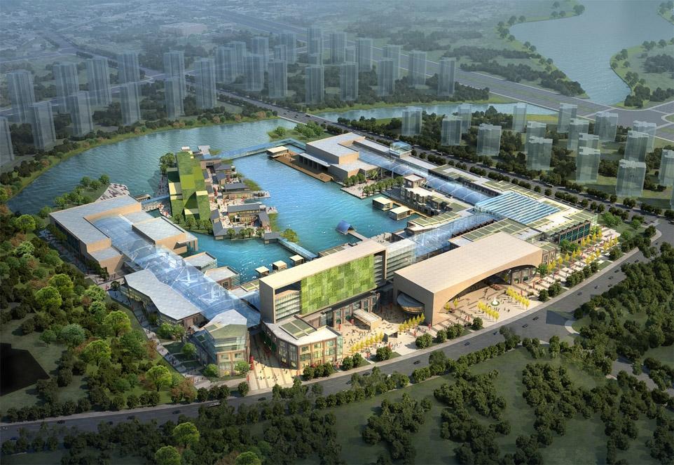Tianjin Eco-city Planning Plot 17