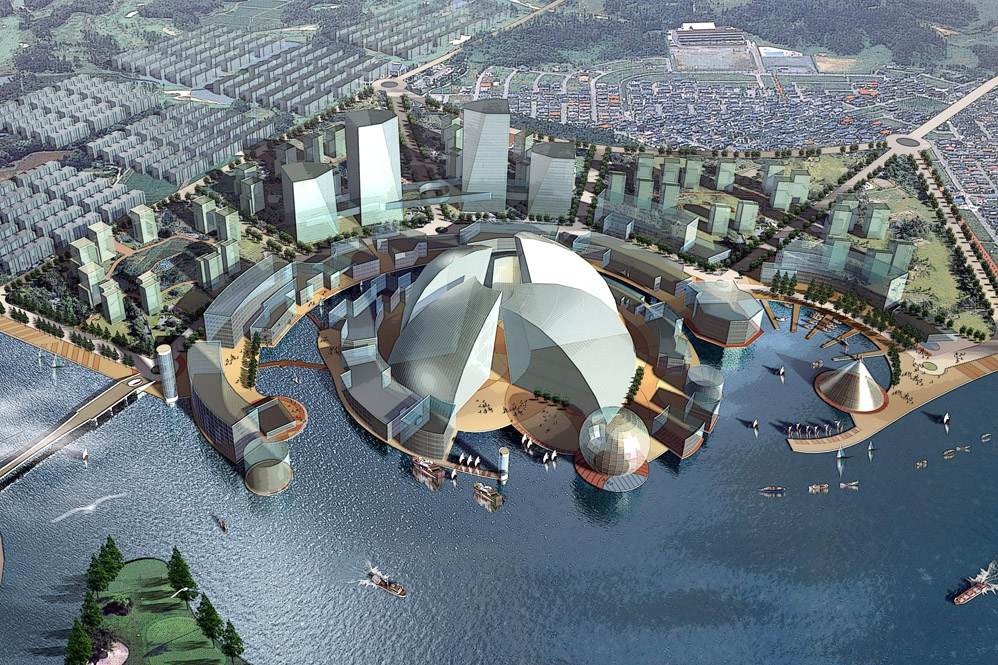 Shanghai Dianpu River Planning