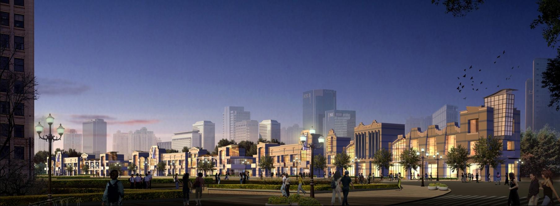 Shanghai Huangpu Old Town Reformation