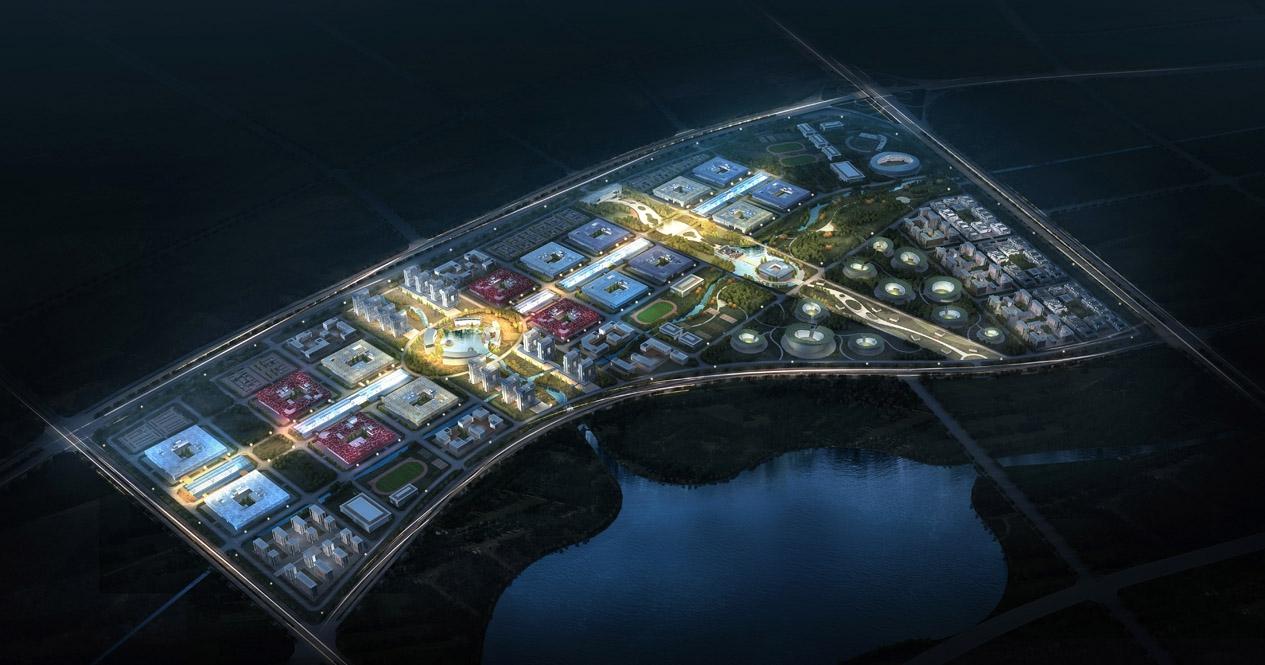 Pingtan High Education Zone Urban Design