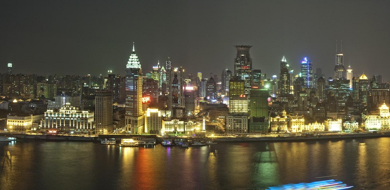 上海外滩中山路沿街立面改造