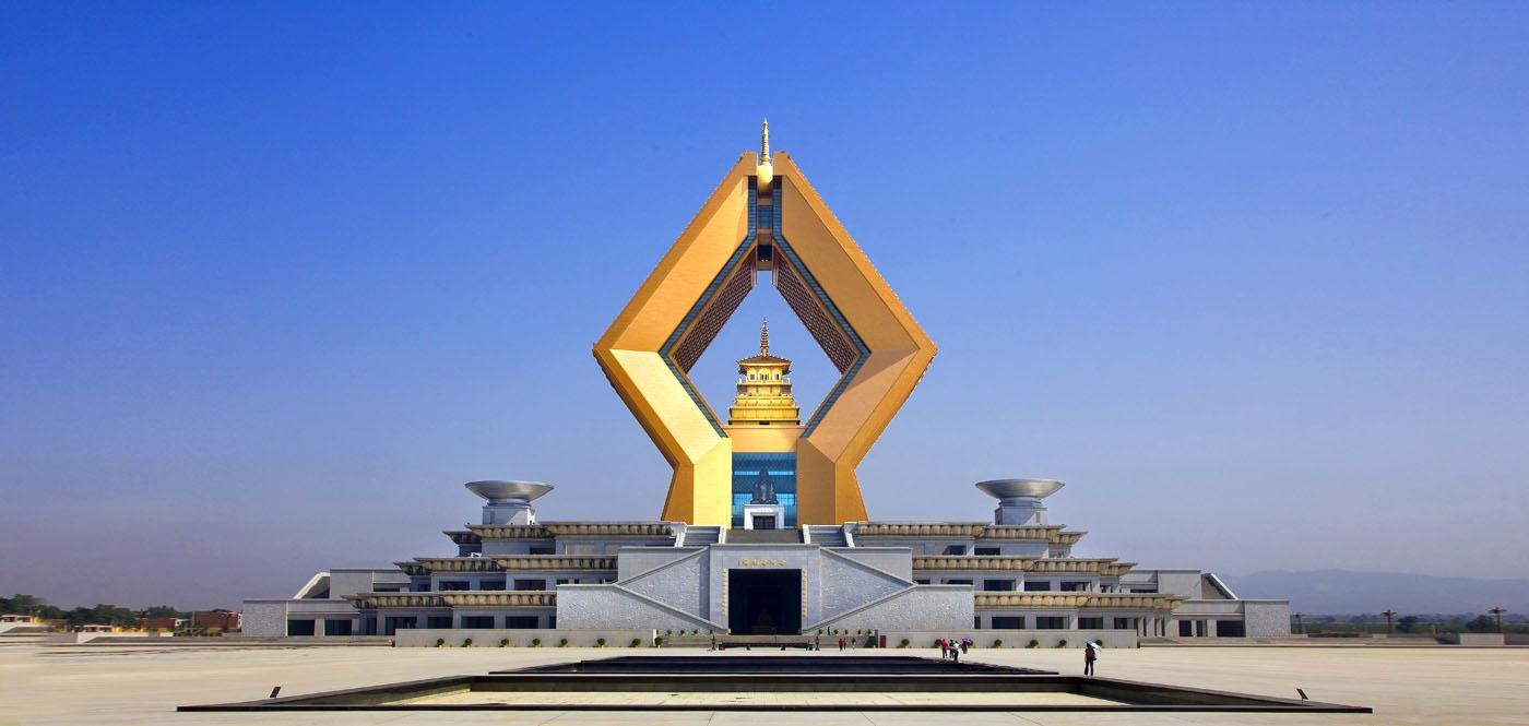 Sarira Pagoda of Shanxi Famen Temple