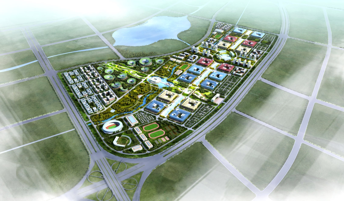 Pingtan High Education Zone Urban Design